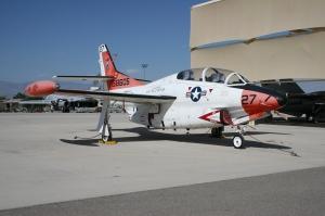 North American T-2C Buckeye 158605